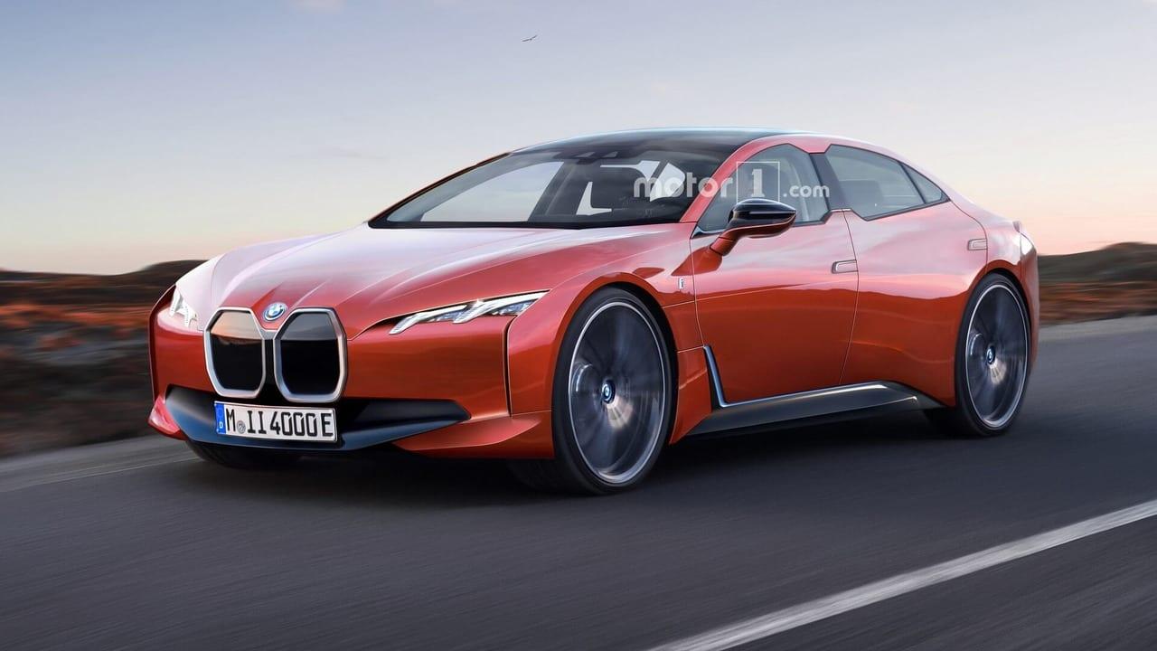 BMW i4 Render