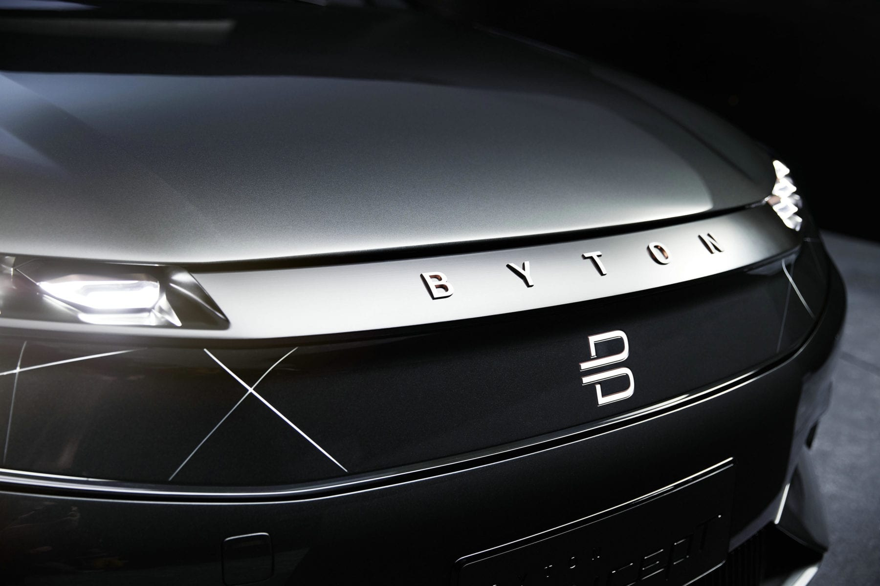 Byton M-Byte Exterior