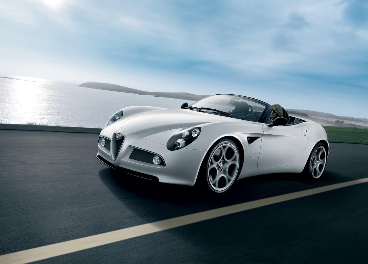 Alfa Romeo 8c Spider Exterior