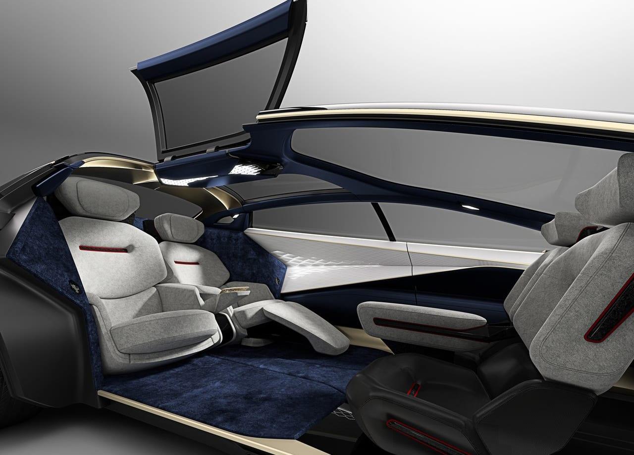 Aston Martin Lagonda Vision Interior