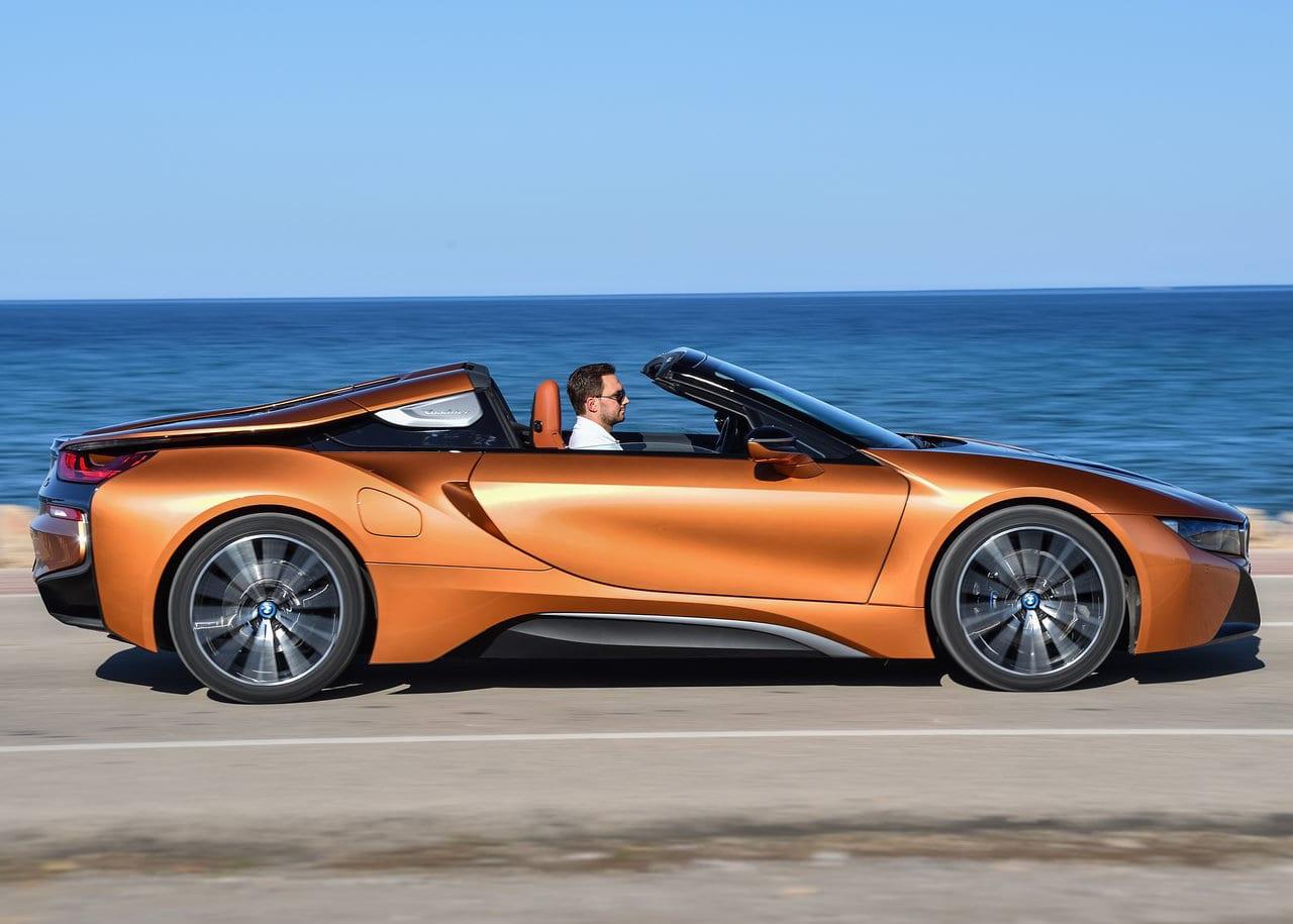 BMW i8 Roadster Exterior