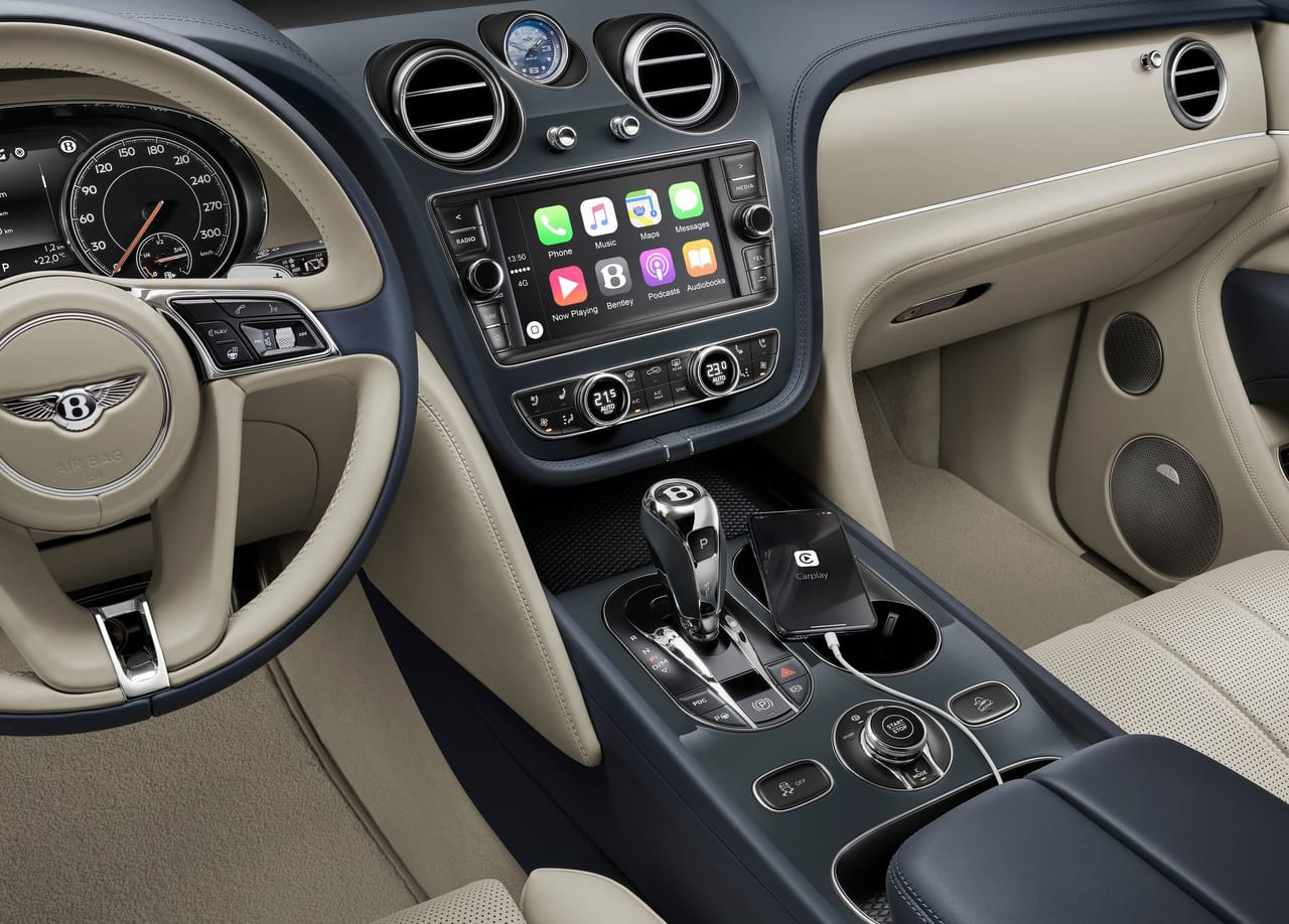 Bentley Bentayga Hybrid Interior
