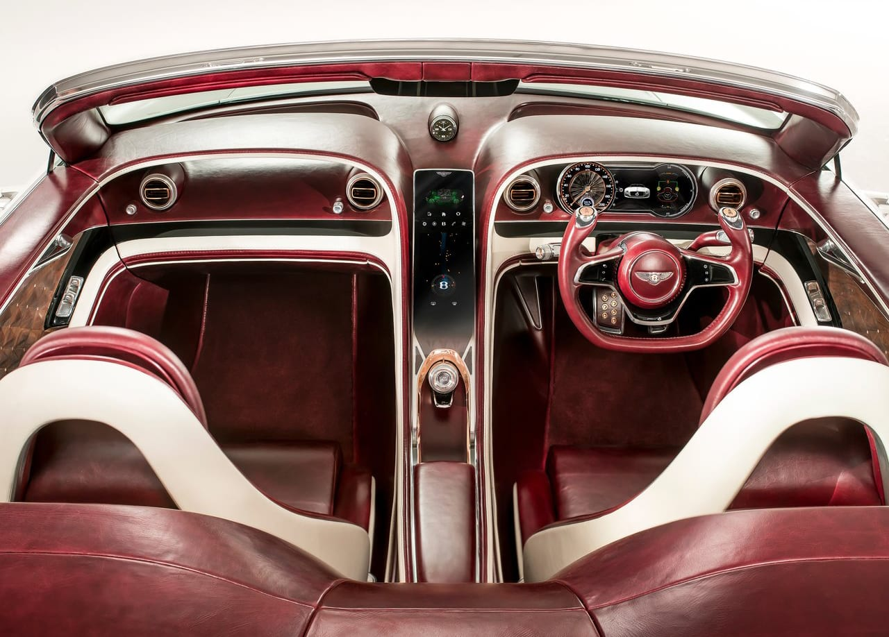 Bentley EXP 12 Speed 6e Interior