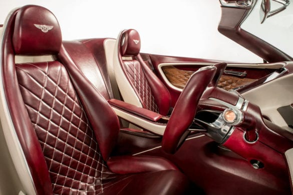 Bentley electric car
