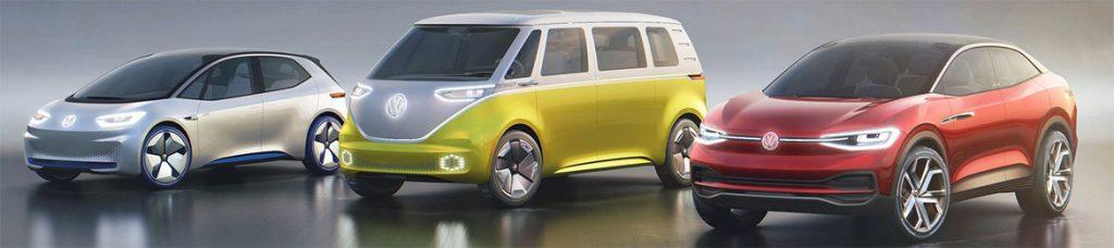 electric Volkswagens
