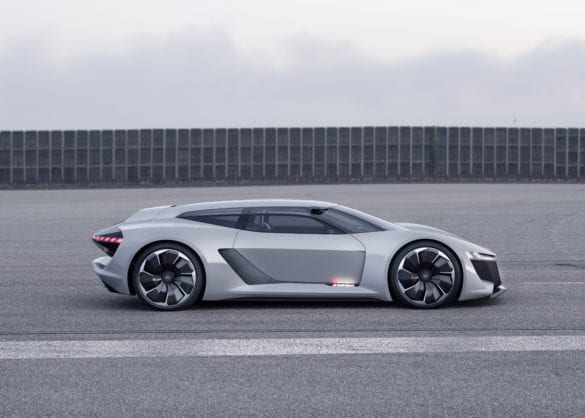 Audi shows its new PB18 e-tron electric supercar concept
