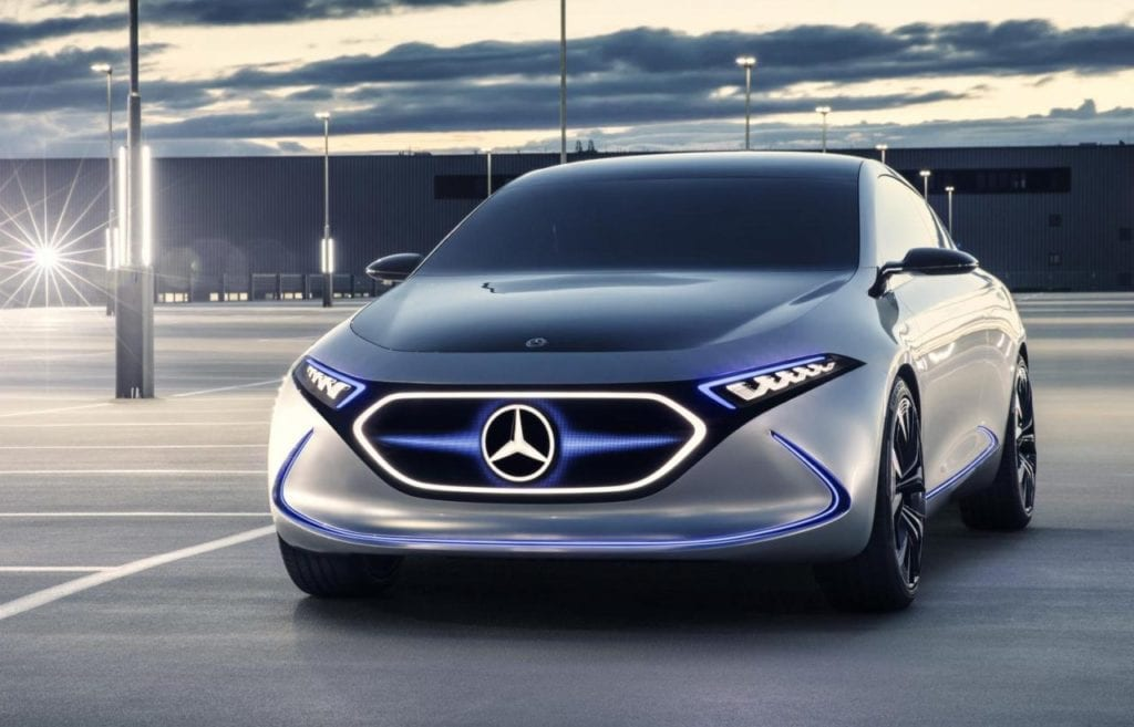 Mercedes EQA - upcoming electric cars