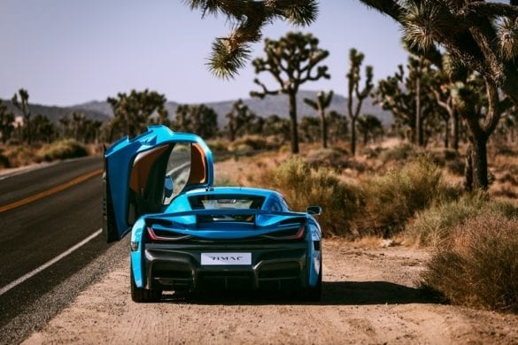 Rimac shows its gorgeous 'California Edition' C_Two Hypercar
