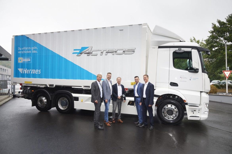 eactros mercedes electric trucks