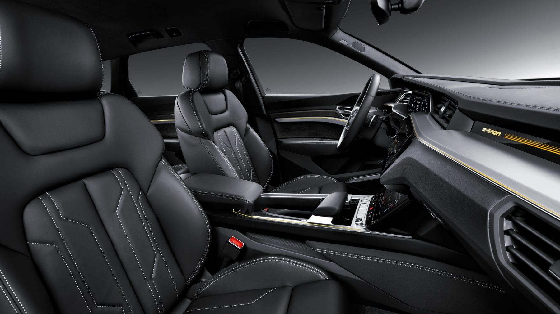 Audi e-tron Quattro Interior