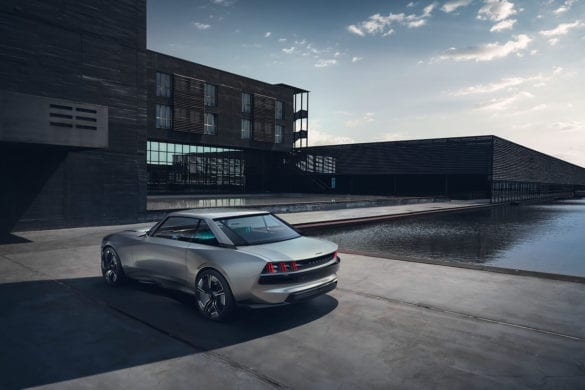 Aggressive Peugeot Concept, e-LEGEND Revealed with 100 kWh Battery
