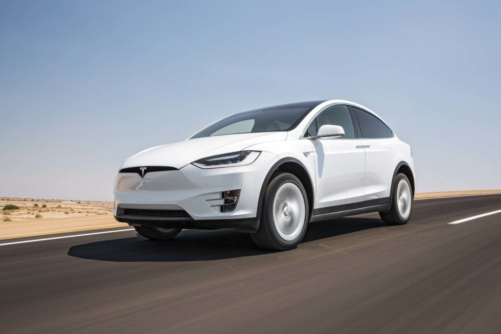 luxury electric cars Tesla Model X