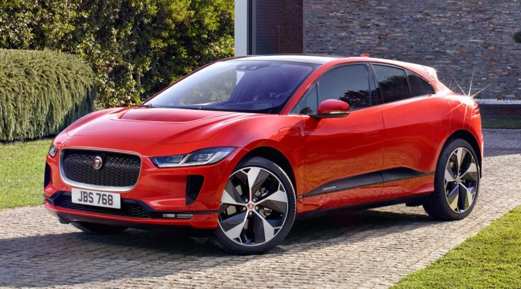 luxury electric cars Jaguar I-Pace
