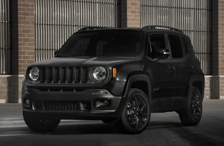 Potential Jeep Renegade hybrid design