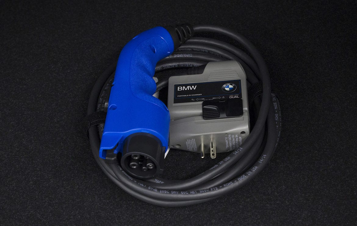 bmw electric car charger