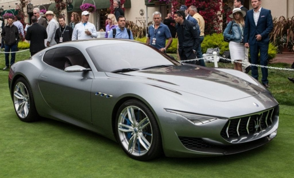 luxury electric cars Maserati Alfieri