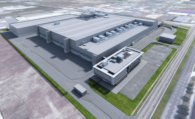 Dyson electric car factory