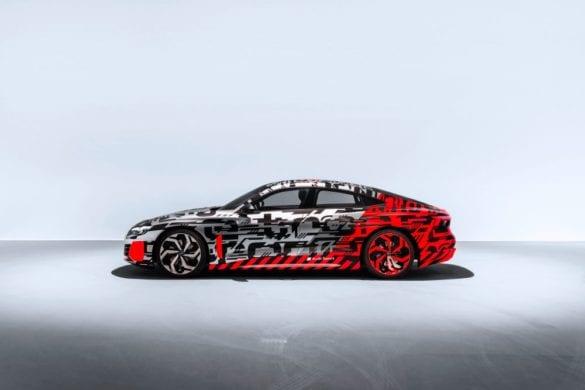 Audi e-tron GT Concept Teased Ahead of Launch