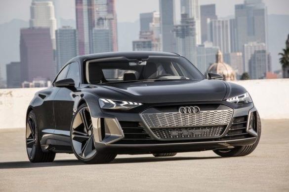 Audi e-tron GT Makes Its Official Debut in LA
