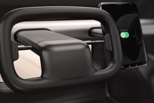 Biomega Introduces SIN Electric Car for Urban Environments