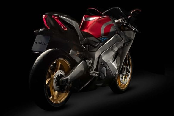 New Electric Superbike Revealed by KYMCO