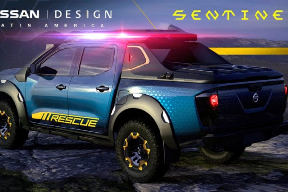 Nissan LEAF Batteries Repurposed in New Frontier Sentinel Concept