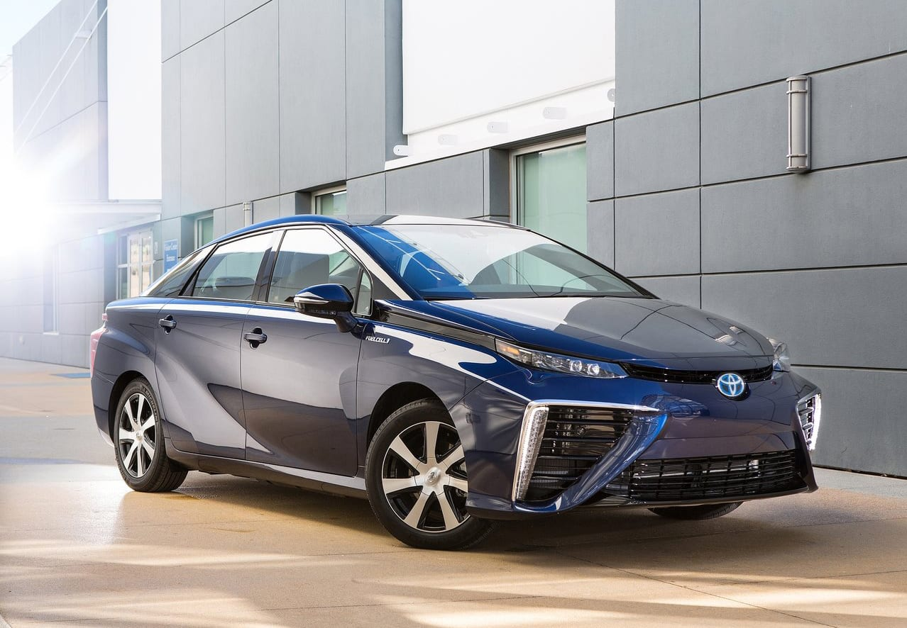 And Then We Have Hydrogen Fuel Cell Cars In The Sector That Does Not Seem To Much Production Being Put Forward Toyota Is Confident Its Ability