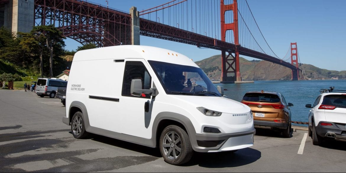 electric delivery vans