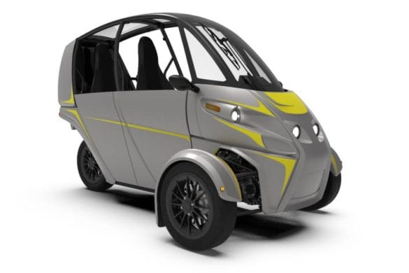 """Arcimoto Opens Sales for Electric """"Fun Utility Vehicle"""""""