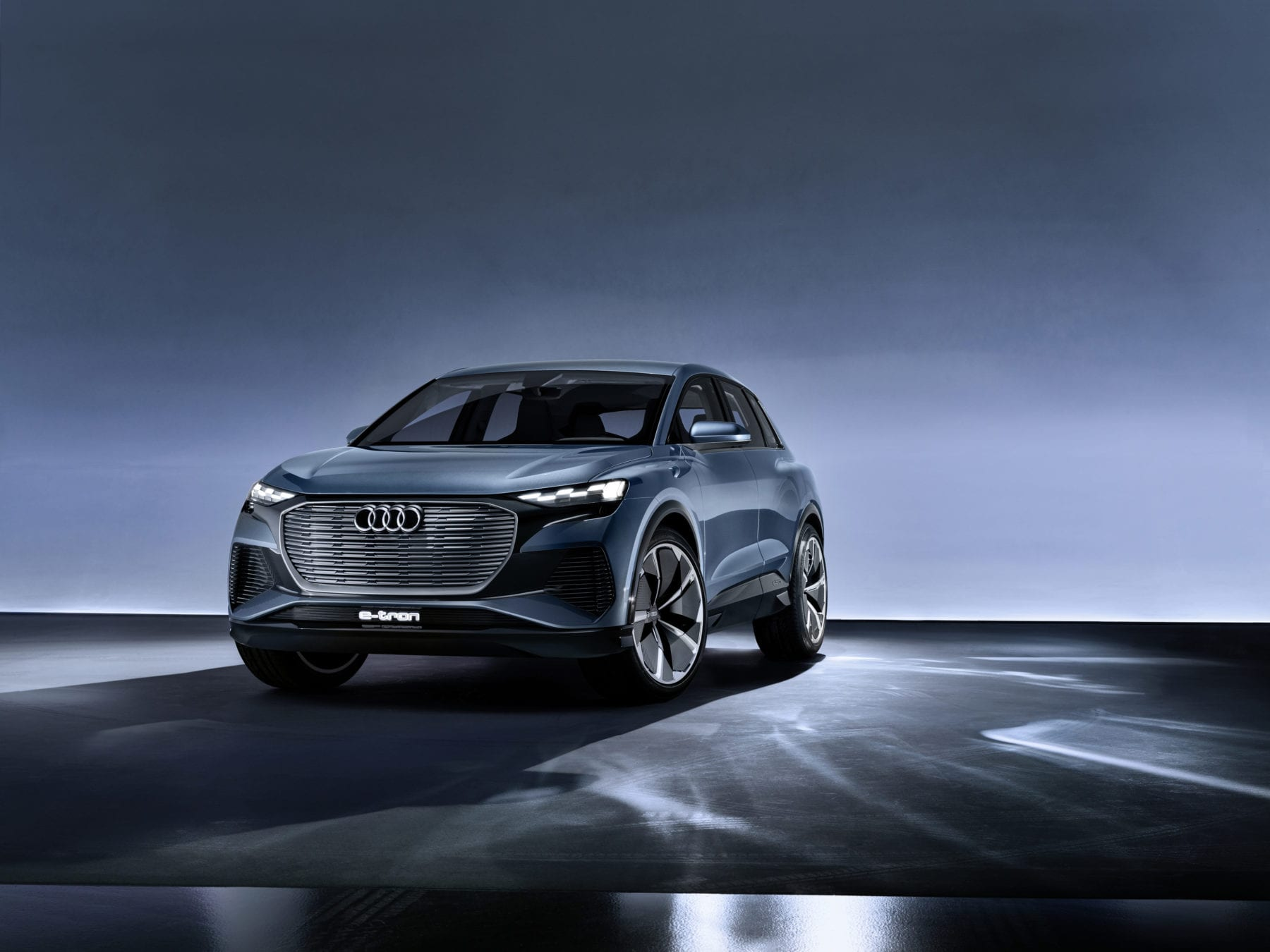 Audi S E Tron Is Growing Larger And As Time Goes On This Showed Off A Q4 Electric Suv Concept That Will Make Its Way To Production