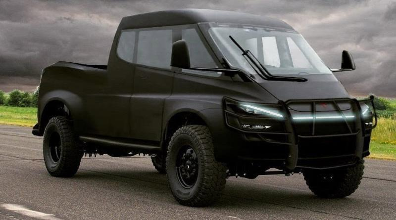 Tesla Truck Fan Render 3