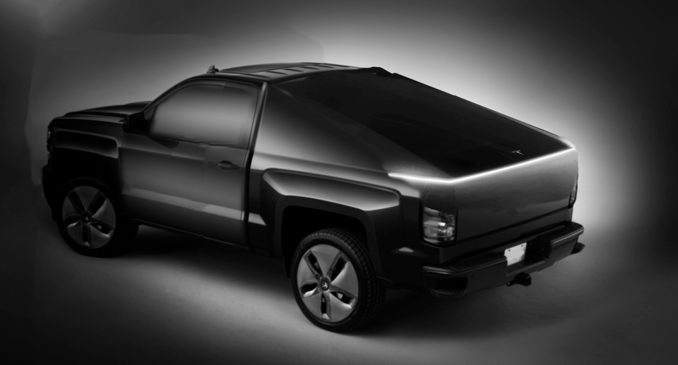 Tesla Truck Fan Render 6