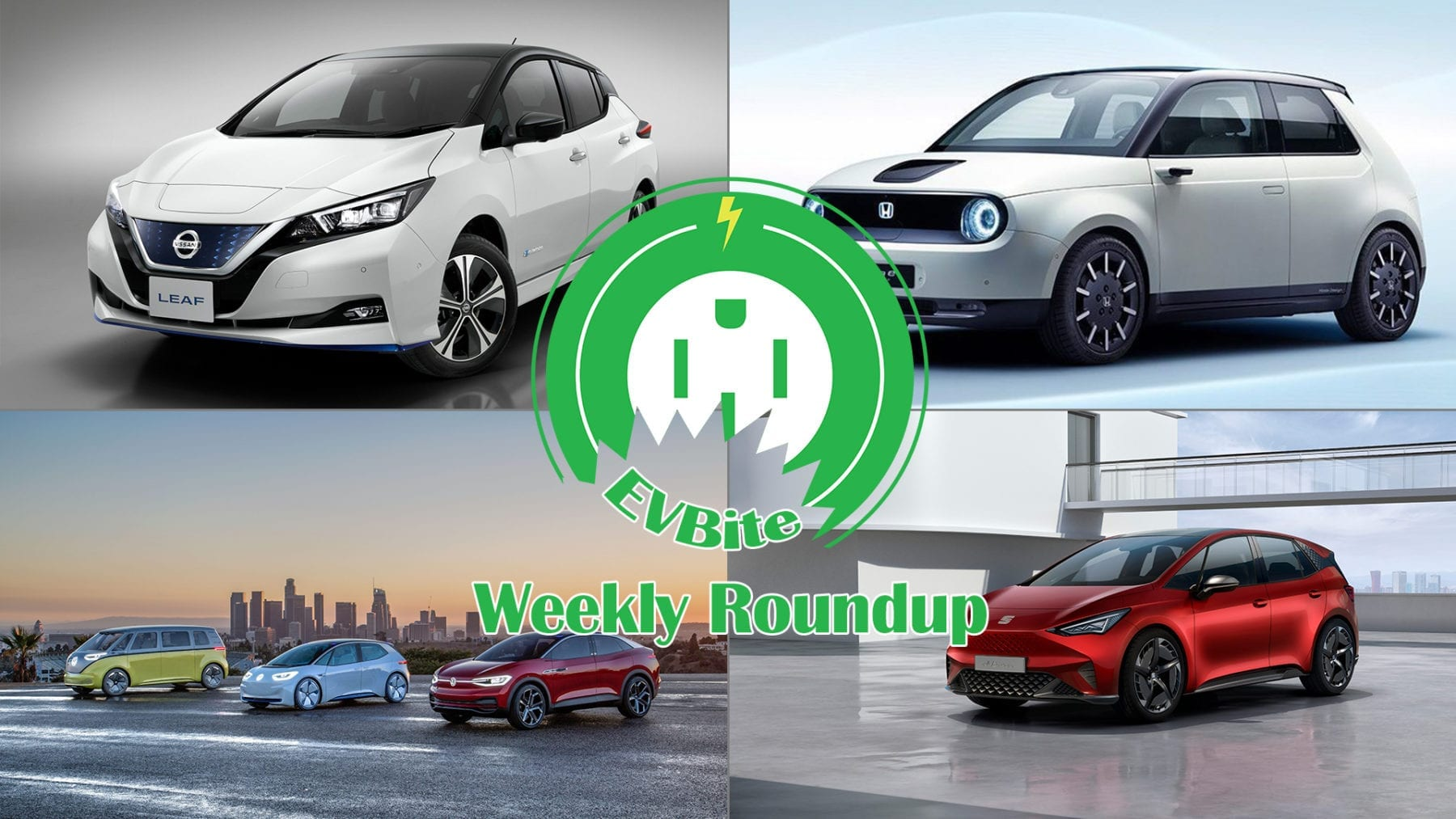 this week in ev news  nissan leaf plus price  honda e prototype  vw id release strategy  and
