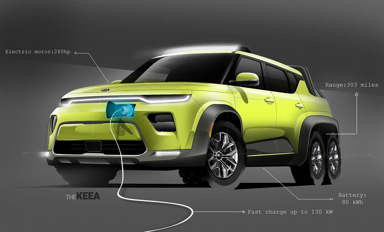 Kia Has Just Became One Of The Most Innovative Electric Car Manufacturers In World With Announcement Their Latest Vehicle