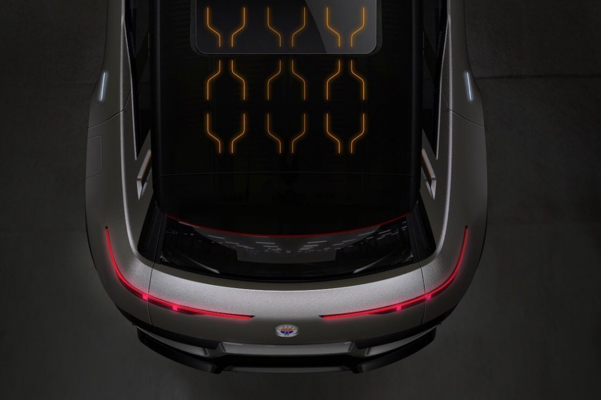 Fisker Electric SUV Solar Roof