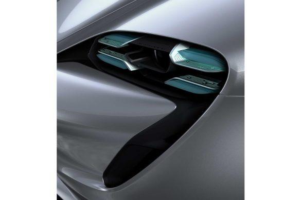 Porsche Shows off Production Taycan Design Sketches