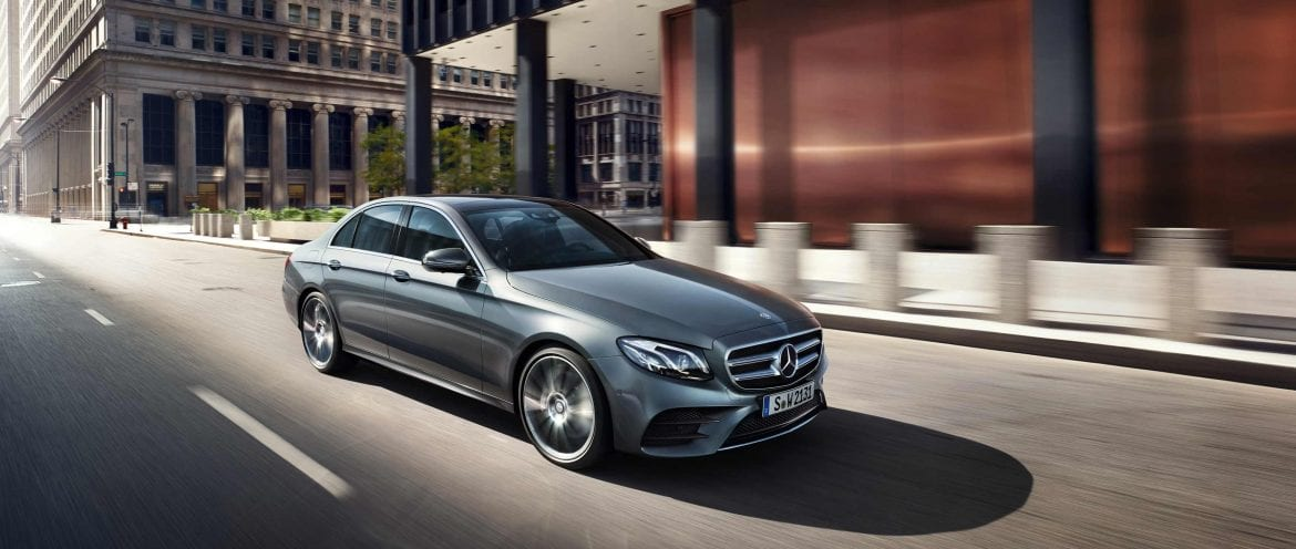 The vehicle the Mercedes-Benz EQE will be based off