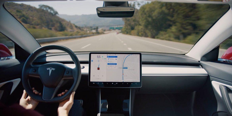 Tesla Software Update V10