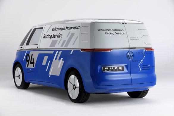 Volkswagen electric cargo van