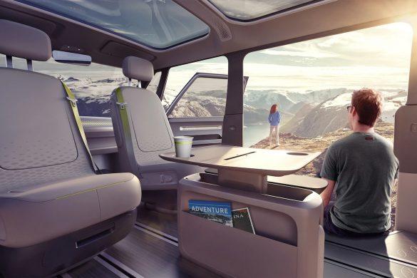 VW ID BUZZ camper interior