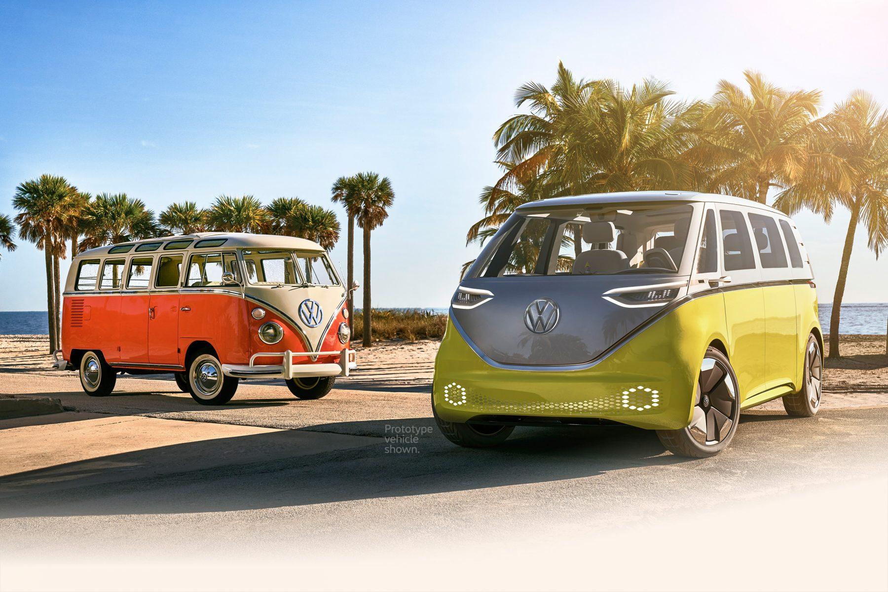 VW electric microbus