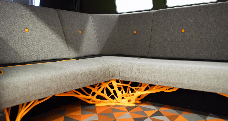 Volkswagen Type 20 Interior 2