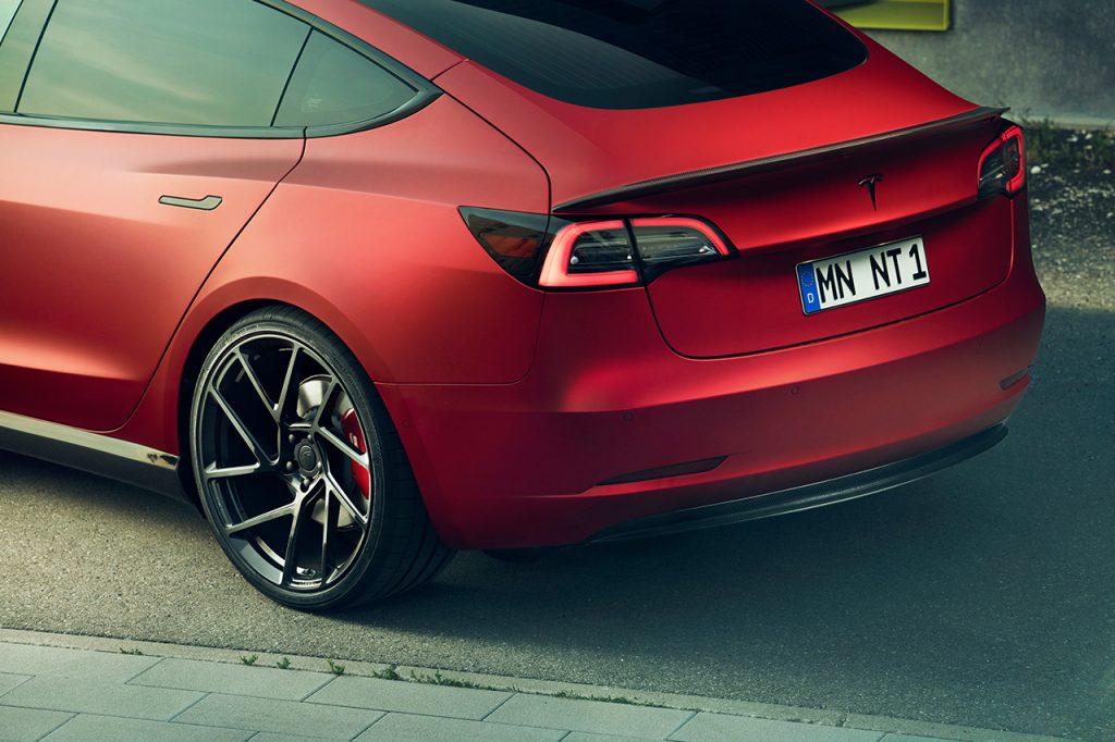 Check Out This Novitec Custom Tesla Model 3 | EVBite