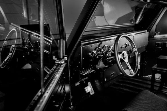 Bollinger B2 Steering