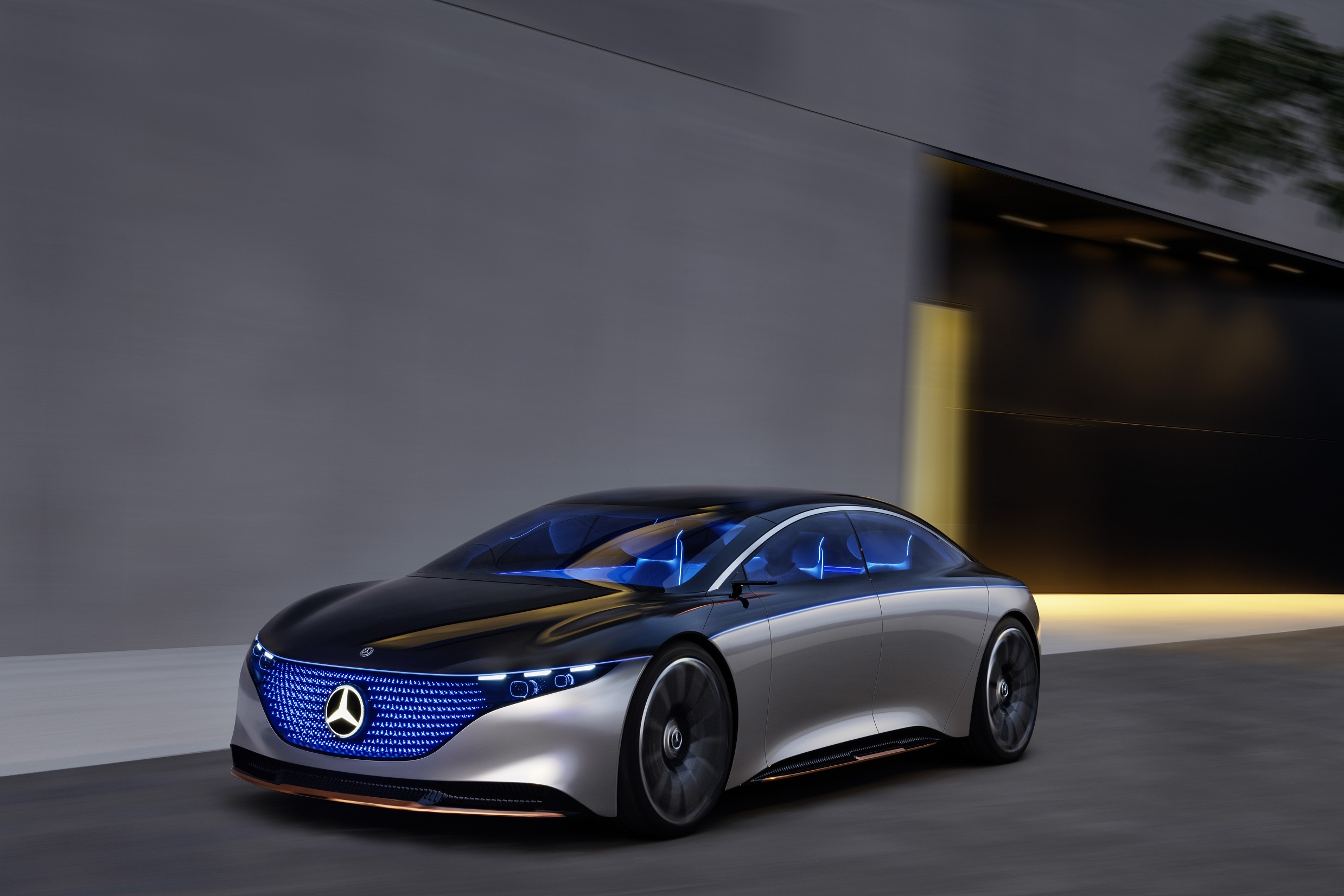 Mercedes EQS concept imagines an S-Class of the future