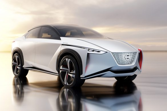 Nissan Preparing their IMx-Inspired Electric Crossover