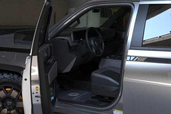 Lordstown EV Truck Interior