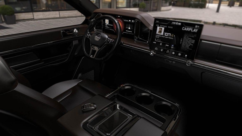 Atlis XT Upgraded Interior