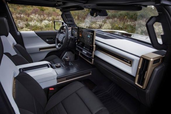 Hummer EV Interior