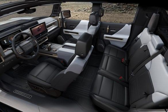 Electric Hummer Truck Interior